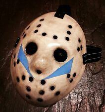 """DELUXE SCREEN ACCURATE FRIDAY 13TH PART V JASON VORHEES HOCKEY MASK """"ROY""""HORROR."""