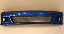 PAINTED 364 Front BUMPER With washers holes jet For BMW E39 M5 M look sport PDC