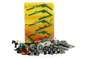 Lego Castle Black Falcons Set 6073 Knight's Castle 100% complete + instr. 1984