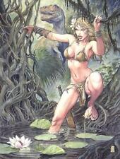 SHANNA POSTER BY MILO MANARA MARVEL COMICS 24x36 NEW ROLLED THE SHE-DEVIL