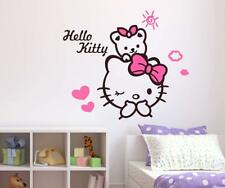 Hello Kitty Wall Sticker Removable Mural Decals Vinyl Art Living Room Decor