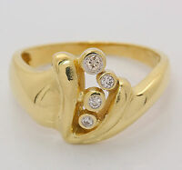 ♦♦14kt 585 Brillantring in Gelbgold Brillant Gold Ring Brilliant Fingerring♦♦