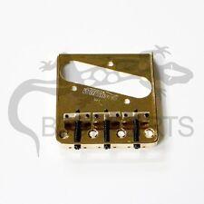 NEW Wilkinson Telecaster BRIDGE GOLD for Fender Tele Guitar Brass Saddle #97