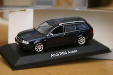 1:43 Audi RS6 Avant 2002-2004 darkblue mugello C5 MINICHAMPS dunkel blau rs s 6