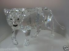 SWAROVSKI SILVER CRYSTAL 2013 ISSUE LION MOTHER, WILD LIFE THEME  MINT IN BOX