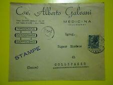 BELLA BUSTA 1956 CAV. ALBERTO GALVANI DA MEDICINA PER IL SINDACO DI COLLEPASSO