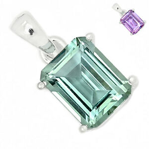 Colorchange Alexandrite (Lab.) 925 Sterling Silver Pendant Jewelry BP94283