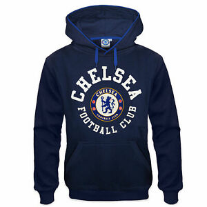 Official Chelsea FC Football Pullover Hoodie Mens Large CHH14