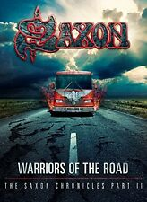 SAXON - WARRIORS OF THE ROAD-THE SAXON CHRONICLES PART II 2 CD + BLU-RAY NEUF