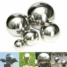 Stainless Steel Mirror Polished Sphere Hollow Round Ball Garden Ornament