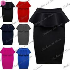 Polyester High Waist Unbranded Casual Skirts for Women