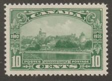 Canada 1935 #215  - KGV Silver Jubilee (Windsor Castle) - VF MNH