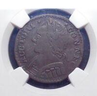 1787 Connecticut Copper - Mailed Bust Left, NGC Fine Details.