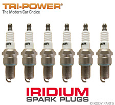 IRIDIUM SPARK PLUGS - for Ford Maverick 4WD 4.2L 6 Cyl DA (TB42S) TRI-POWER