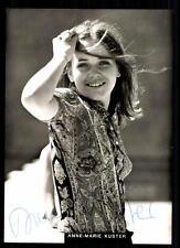 Anne Marie Kuster AUTOGRAFO MAPPA ORIGINALE FIRMATO # BC 35164