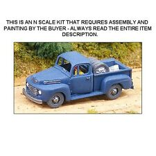 1950 FORD F-1 PICKUP TRUCK KIT - N SCALE KIT - GHQ 57008