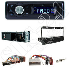 RMD021 Caliber Autoradio + Ford Escort,Transit,Mazda121 Blende black+ISO Adapter