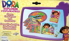 Dora the Explorer 3 in 1 game set Bingo Puzzle Crazy Eights card game new in box