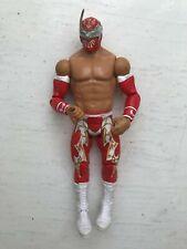 WWE SIN CARA  MATTEL BASIC SERIES 28 WRESTLING ACTION FIGURE RED ATTIRE
