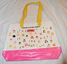Benefit Cream & Pink Laughter is the Best Cosmetic Tote / Shopper Bag BNIP