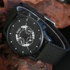 Casual SOKI Watch Men's Military Watches Boy Quartz Analog Wristwatch Nylon Band