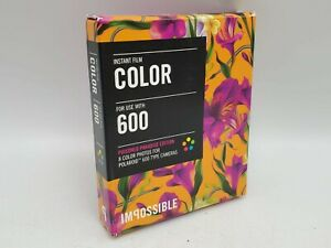 Expired/Sealed Impossible Project Color 600 Instant Film Poisoned Paradise Ed.