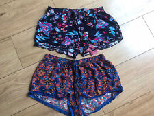 2 x Primarks Paisley Summer Shorts Size 6/8