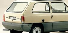 COFANO BAULE POSTERIORE (REAR BONNET) FIAT PANDA 1° SERIE 30 45 4x4 SILSLEY