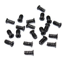 Hot Computer PC Case Cooling Fan Grill Guard Mounting Screws Black 20 Pcs