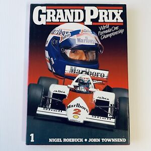 Grand Prix 1985 World Formula One Championship Hardcover First Edition Roebuck