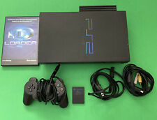 Playstation 2 Console With 120gb Hard Drive And Hd Loader