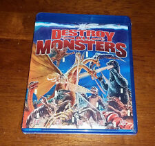 Destroy All Monsters Blu Ray, New / Sealed, Out of Print! Tokyo Shock, Godzilla