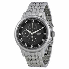 New Tissot Carson Automatic Black Dial Stainless Steel Mens Watch T0854271105300