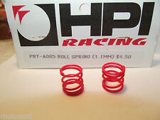 HPI  A085 STEEL ROLL SPRING RED 1.1MM 2PCS