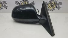 AUDI A4 B8 DRIVER RIGHT SIDE WING MIRROR PAINT CODE LZ9Y BLACK '07-12
