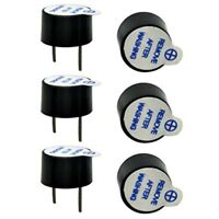 10pcs 5V Active Buzzer kit Magnetic Beep Tone Alarm Ringer 12mm/