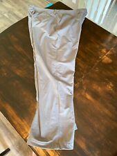 Men's Under Armour Cold Gear Golf Pants Flex Comfort Waist Size 42 x 32 Gray