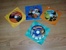 DVD Sampler General Mills Cereal Shrek Madagascar Dragon Kung Fu Panda     movie