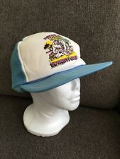 Vintage PitbulI Dog Fight The Party's Over 80's Winner Trucker Hat