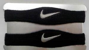 Nike Dri-Fit Football Bicep Bands Black/Silver Men's Women's