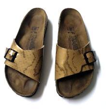 a86e9b452a88 Birkenstock Birkis Madrid Snake Skin Slip On Sandals Women s Shoes Sz 40