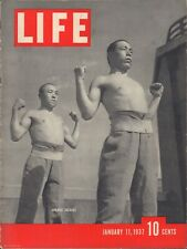 LIFE January 11,1937 Japanese Soldiers / Sonja Henie / Winslow Homer / Margaret