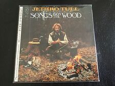 Songs From The Wood Jethro Tull Japan Mini-LP CD OBI TOCP-67185 Ian Anderson