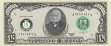 Bankbiljet billet Amerikaanse presidenten - 06 - John Quincy Adams 1825/1829