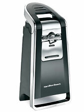 Hamilton Beach Smooth Touch Electric Can Opener with Easy Opening Lever in Black