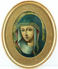 Ikone Gemälde Madonna Barock 17.Jh. Icona Icon
