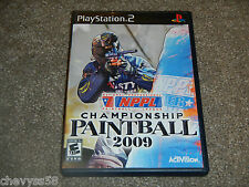 NPPL CHAMPIONSHIP PAINTBALL 2009 09 ACTIVISION PLAYSTATION 2 VIDEO GAME DISC