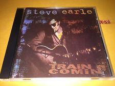 STEVE EARLE cd TRAIN A COMIN emmylou harris norman blake peter rowan beatles cov
