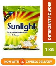 Sunlight Super Detergent Powder Lemon &Orange/Clean & Jasmine Fresh 1Kg