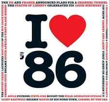 31st anniversaire cadeau-i love 1986 compilation cd carte de vœux anniversaire cadeaux